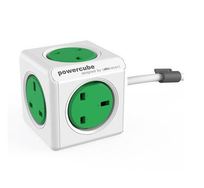 ALLOCACOC PowerCube Extended 1.5M UK, Outlets 5 socket