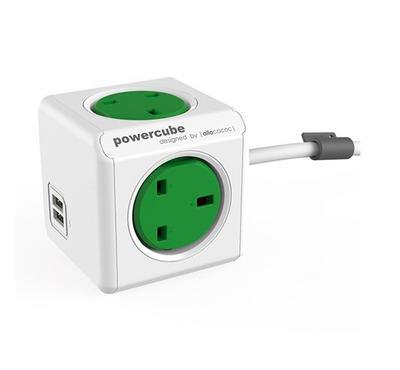 ALLOCACOC PowerCube Extended 1.5M, 2 ports USB
