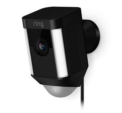 Ring Spotlight Hardwired Cam, Black