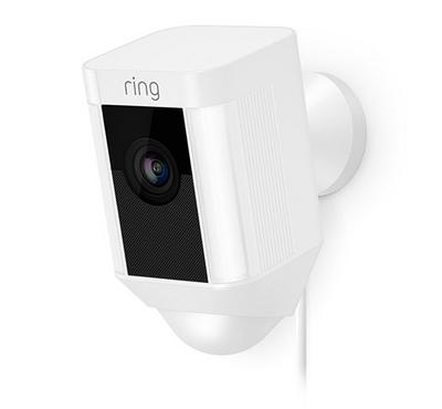 Ring Spotlight Hardwired Cam, White