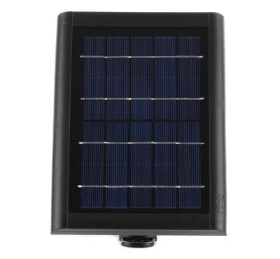 رينج شاحن للكاميرا بالطاقة الشمسيه، أسود