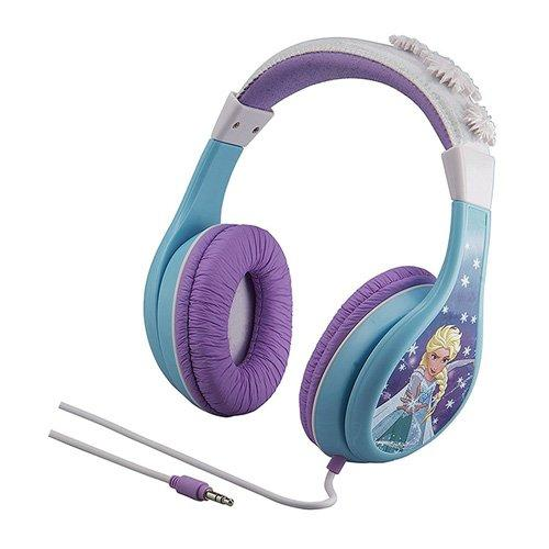 iHome Kiddesigns Over-Ear Headphone Volume Limited With 3 Settings, Blue