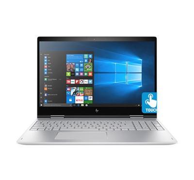 HP ENVY X360 15.6In Convertible PC i7-8550U 512GB W10 Silver