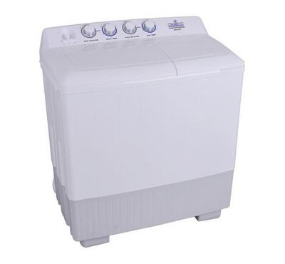 Westpoint 14 kg Twin Tub Top Loading Semi-Automatic Washing Machine White.