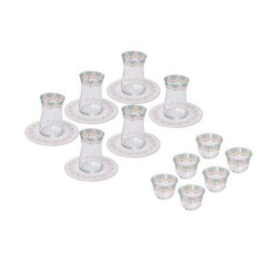 La Mesa Arabic Tea Set Of 18Pcs