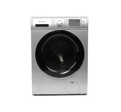 Daewoo Front Load Washer and Dryer, Inveter Motor, 9kg wash 6kg dry, Silver