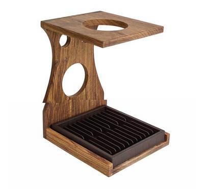 Wood Coffee Cup Shelf