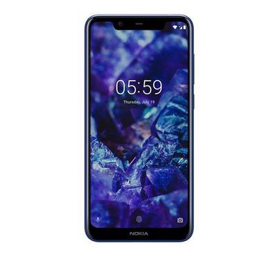 Nokia 5.1 Plus TA-1105, 4G LTE, 5.8 inch, Dual SIM, 32GB, Blue