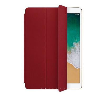 Apple Leather Smart  Front Cover for 10.5 inch  iPad Pro, Air 3rd Gen, 7th Gen, Product Red