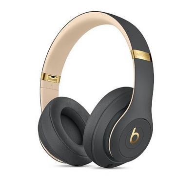 Beats Studio3 Wireless Over‑Ear Headphones, Shadow Grey