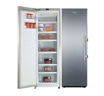 Super General Upright Freezer, 360.0L, No Frost, Stainless