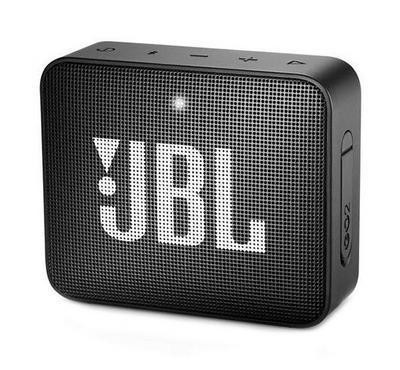JBL Go 2 Wireless and Bluetooth Speaker, Black