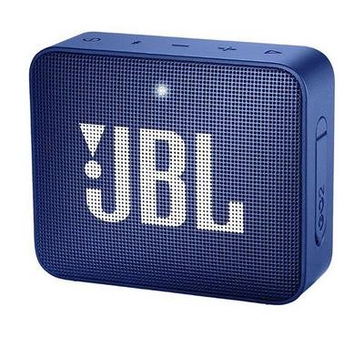 JBL Go 2 Wireless and Bluetooth Speaker, Blue