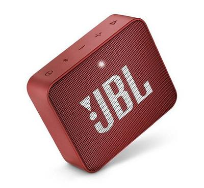 JBL Go 2 Wireless and Bluetooth Speaker, Red