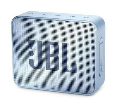 JBL Go 2 Wireless and Bluetooth Speaker, Icecube Cyan