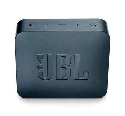 JBL Go 2 Wireless and Bluetooth Speaker, Navy