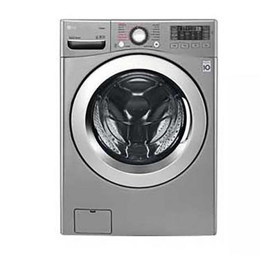 LG Front Load Washing Machine, 16kg Wash-10kg Dry, Silver