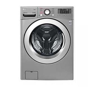 LG Front Load Washing Machine, 16kg Wash-10kg Dry, Silver