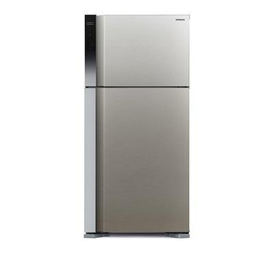 Hitachi 760.0L Fridge Top Mount Freezer Inverter Silver