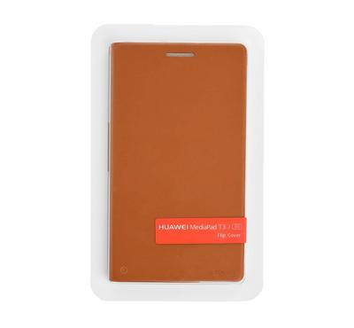 Huawei T3, 7 Inch 3G, Flip Cover, Brown