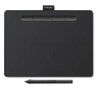 Wacom Intuos M, Tablet with Digital Pen, Bluetooth, Black