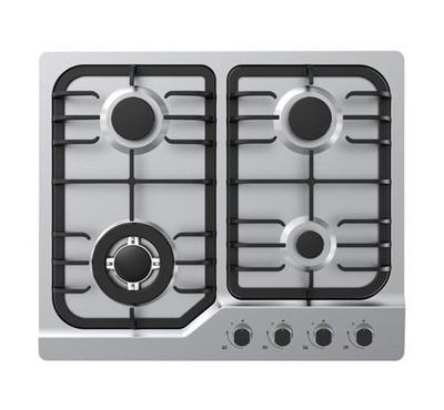 Midea Gas Hob,  Built-in, 60cm, Stainless Steel