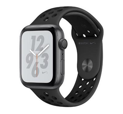 AppleWatch Nike+, Series4 GPS, 44mm Space Grey with Anthracite/Black Nike Sport Band
