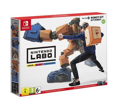 Robot Kit - Nintendo Labo - Nintendo Switch