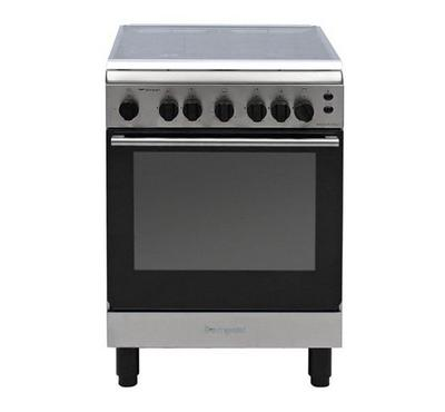 Bompani 4 Burners Gas Cooker Stainless steel