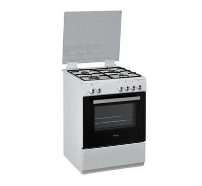 Whirlpool Gas Cooking Range w/ Grill, 60x60cm, White