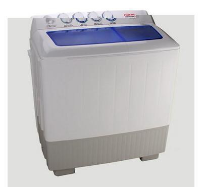 Nikai Semi Automatic Twin Tub 14 kg Washing Machine, White