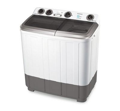 Daewoo Twin Tub Semi Automatic Washing Machine , 8.5KG, White