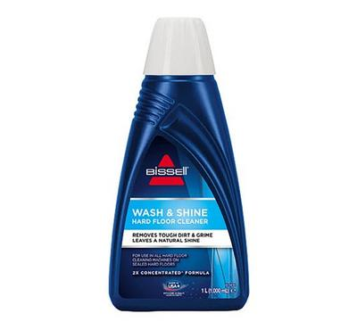 Bissell Wash and Shine Hard Floor Solution, Remove Tough Dirt and Grime, Wash Citrus, 1000Ml