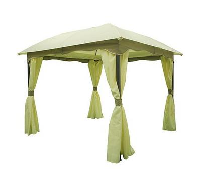 Homz 3x3 Meters  squatr gazebo with cover