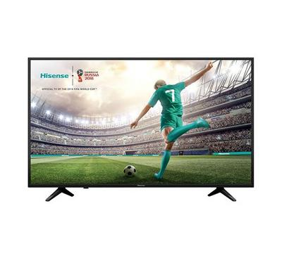 Hisense 55 Inch Smart LED TV UHD 4K, DLED Panel, Black