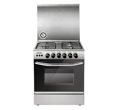 Nikai Free Standing Full Safety 60 x 60 Cooker Silver