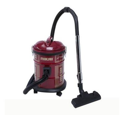 Nikai 160W Dry Drum Vacuum Cleaner Red