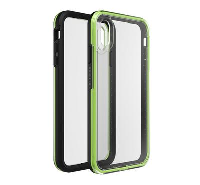 Otterbox Slam Timeless Case for iPhone Xs Max Night Flash, Black/Green