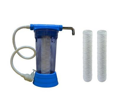 Aqua Pure Single Water Filter plus 3 Cartridge