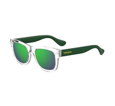 هافاياناس نظارة شمسية للجنسين، أخضر، عدسات بلاستيك أخضر