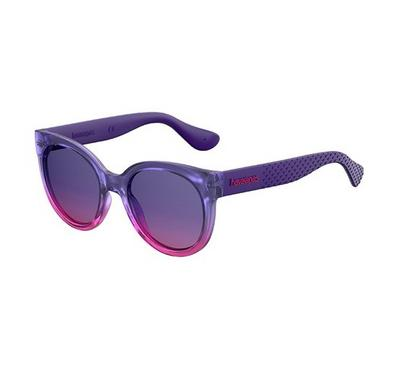 Havaianas Ladies Dkpurp Pk Sunglasses With Plastic Plum Sf Lens