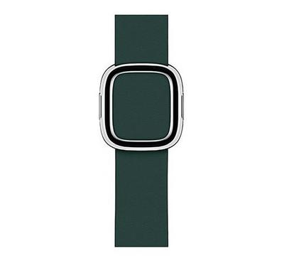 40mm Modern Buckle Band Small, Forest Green
