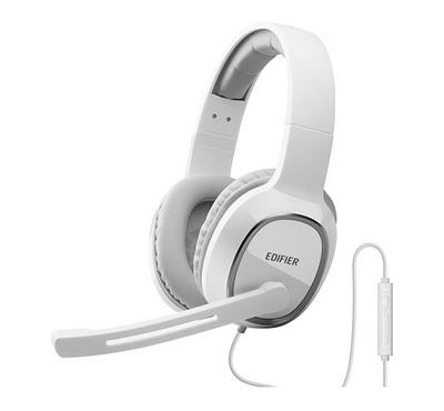 Edifier Gaming PC Headset With External Mic 40mm White
