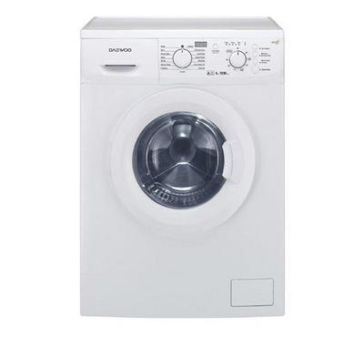 Daewoo 6 kg Front Loading Washer White