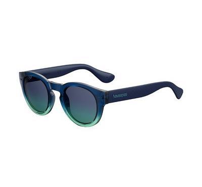 هافاياناس نظارة شمسية للجنسين، أزرق، عدسات بلاستيك أزرق
