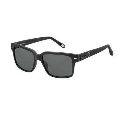 Smith Men Matt Black Sunglasses With Plastic Grey Pz Lens