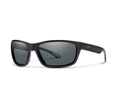 Smith Unisex Matt Black Sunglasses With Plastic Grey Blue Lens