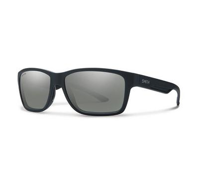 Smith Unisex Matt Black Sunglasses With Plastic Grey Lz Lens
