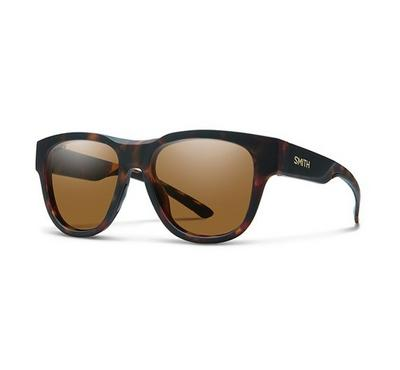 Smith Unisex Dkhvn Brwn Sunglasses With Plastic Brown Pz Cp Lens