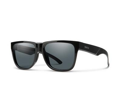 Smith Unisex Black Sunglasses With Plastic Grey Pz Lens